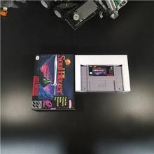 Soul Blazer Rpg Game Card Batterij Besparen Us Versie Doos