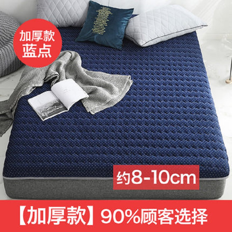 Moderately Hard Thicken 8cm/5 Cm Mattress Three-layer Material Filling Natural Latex Memory Sponge  Single Double Size Tatami