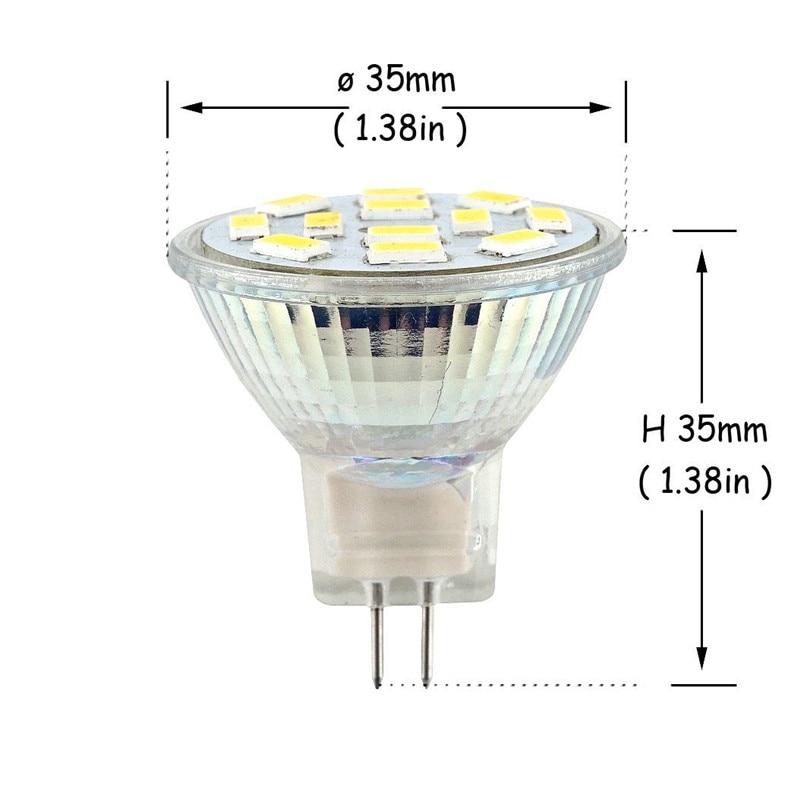 Высокояркий 3 Вт 5 Вт 7 Вт MR11 GU4 Светодиодный точечный светильник лампа 12 В 9 светодиодный s 12 Светодиодный s 15 светодиодный s 5730 SMD Холодный белы...