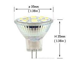 Alto brilhante 3w 5w 7 mr111 gu4 conduziu a lâmpada 12v 9leds 12leds 15leds 5730 smd branco frio branco quente substituir o halogênio