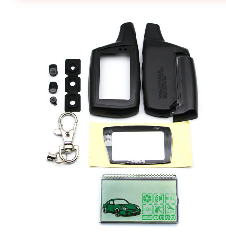 DXL3000 Lcd Display+DXL 3000 Keychain Case For Russian Two Way Car Alarm System PANDORA DXL3000 LCD Remote
