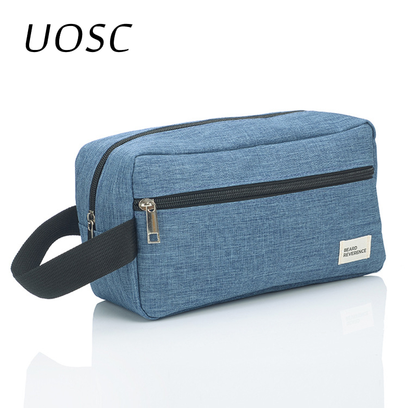 UOSC Cosmetic Bag For Men Organizers Women Travel Necessaire Waterproof Ladies Makeup Bag Men Beauty Case Pack Up The Wash Bags