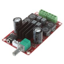 все цены на XH-M189 2 * 50W high-end digital amplifier board DC24V TPA3116D2 two-channel stereo amplifier board онлайн