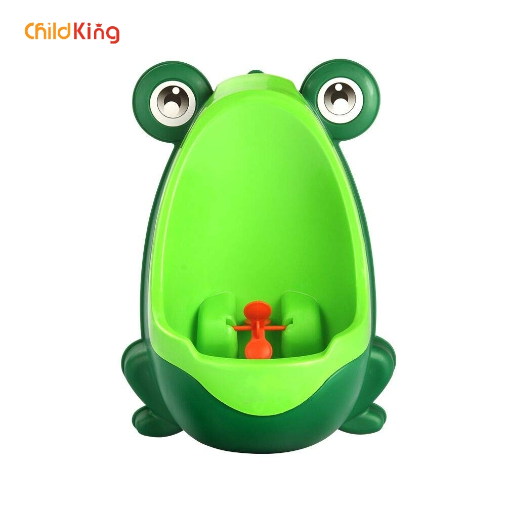 ChildKing Boy Urinal Training Device Baby Frog  Baby Toilet New Urinating Animal Mode Baby Toilet  Potty Trainingseat Toiletkid