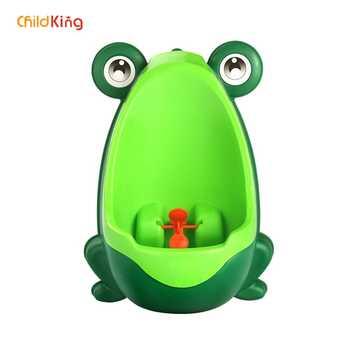 ChildKing Junge urinal ausbildung gerät baby frosch Baby wc Neue urinating Tier modus baby wc töpfchen trainingseat toiletkid