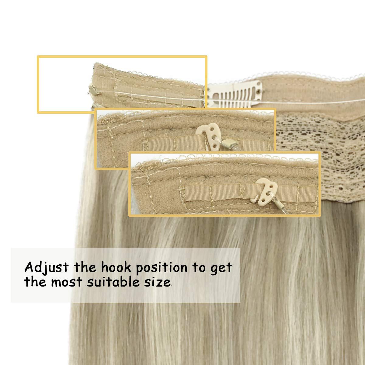 natural escondido segredo fio uma peça remy cabelo