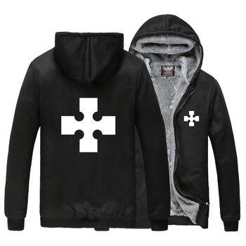 Fire Force Hoodies Unisex Thick keep Warm Winter Coat Shinra Kusakabe Sweatshirt Casual Cardigan Zip Up Outerwear