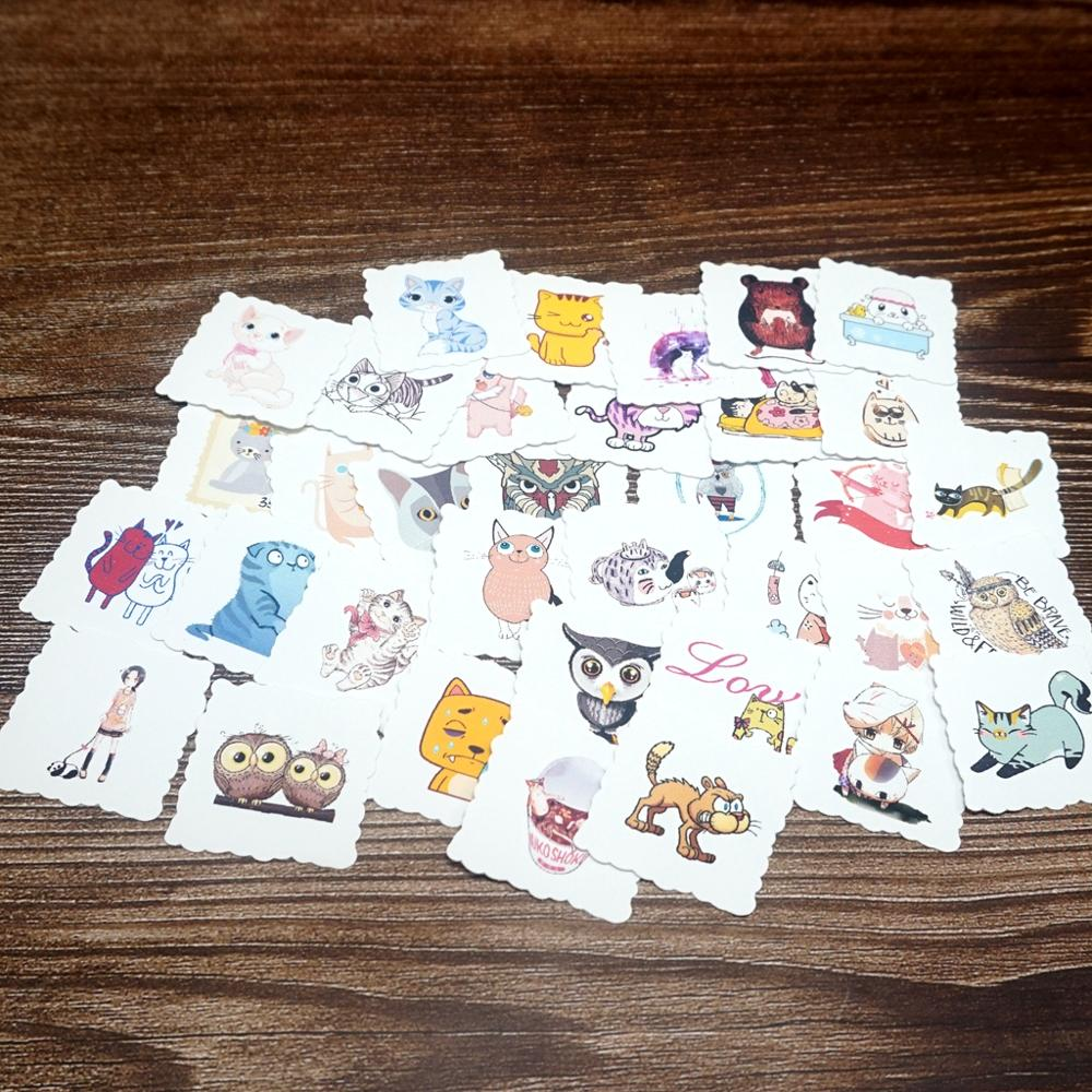 35pcs Animals Waterproof Stickers DIY Luggage Laptop Skateboard Motorcycle Bicycle Guitar Stickers Kids Students Gift Stickers