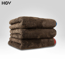 1200GSM Microfiber Car Cleaning Cloths Ultra Thick Cars Drying Towel Double sided for Car Home Polishing Washing and Detailing