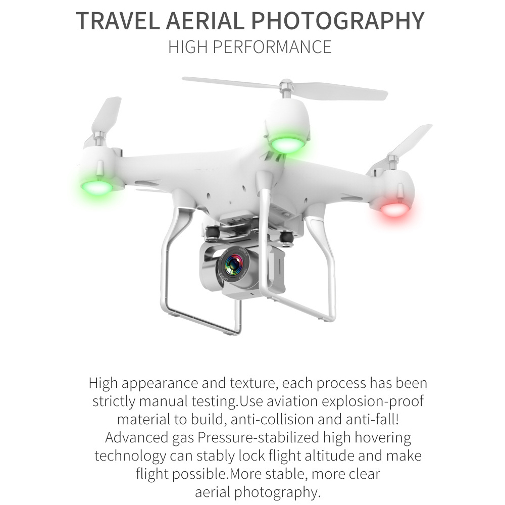 Drone HD 4k WiFi 1080p fpv drone flight 20 minutes control distance 150m quadcopter drone with camera 5