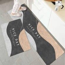 Tapete de banho moderno tapete de entrada tapete de banho tapete de cozinha tapete de cozinha antiderrapante tapee absorvente sala de estar quarto almofada de oração