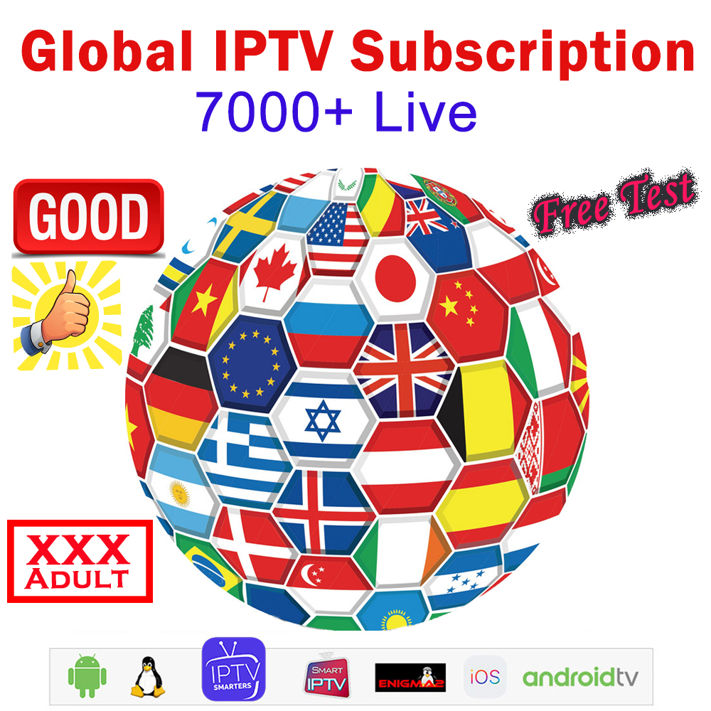 IPTV German French Netherland Turkish UK Spain Spainish 8000+ Live HD IPTV Code M3U XXX Support PC Android Smart TV Series