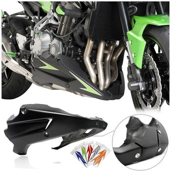 Motorcycle Bellypan Belly Pan Engine Spoiler Lower Fairing Cowling Cover Body Kit for 2017 2018 2019 2020 Kawasaki Z900 ZR900 msdtoys s6 lower body cover black
