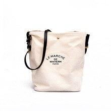 The new canvas women's bag simple and versatile big poor reason shoulder messenger bag shoulder bag  hand bag  Canvas  Casual цена 2017