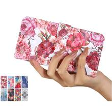 Color Flower Painted Leather Case For Samsung Galaxy A11 M10 M11 M21 M30S M31 A21S A21 A31 A41 Boys Lion Girls Flip Holster D24G(China)