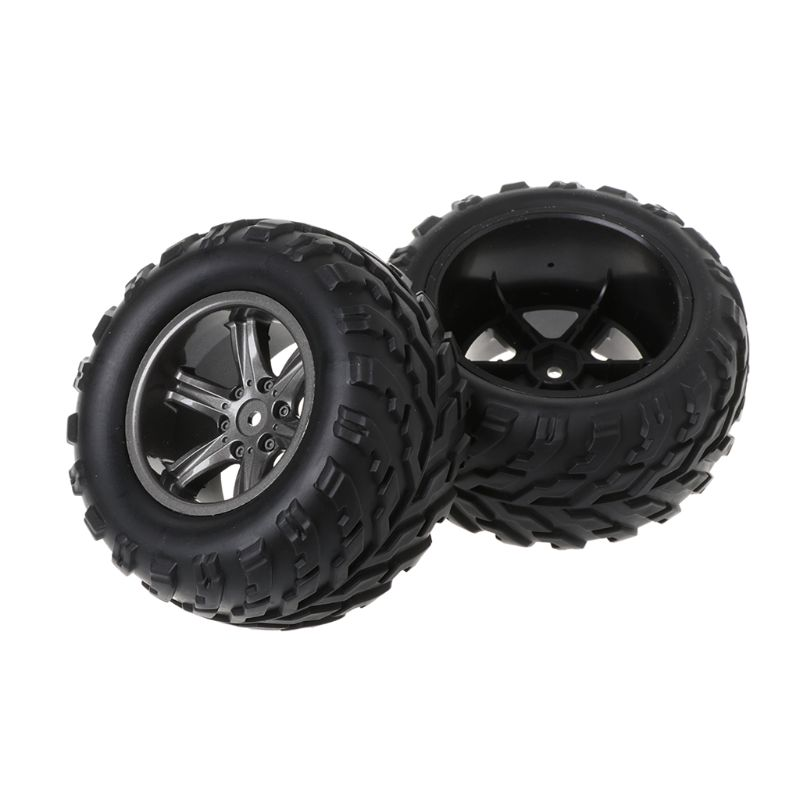 2pcs Upgraded Repair Parts 15-ZJ01 <font><b>RC</b></font> Car Spare <font><b>Wheel</b></font> Rubber Tires Tyres Accessories For Remote Control <font><b>1/12</b></font> S911/9115 Truck Toy image