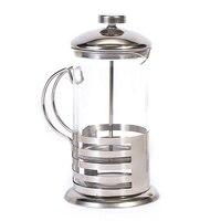 수동 커피 에스프레소 메이커 냄비 프랑스 커피 차 여과기 필터 스테인레스 스틸 유리 주전자 카페테리아 프레스 플런저 350Ml