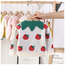 2019 New Products Autumn And Winter Korean-style Children GIRL'S Sweater Flower Mink Cashmere Cardigan Factory Goods Direct Supp(China)
