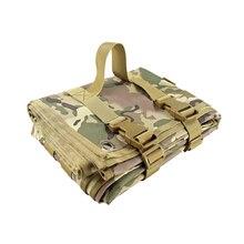 Тактический коврик для стрельбы, Складывающийся на открытом воздухе Тренировочный Коврик для стрельбы для охотничьего диапазона, снайперский кемпинг, открытый складной нейлоновый коврик