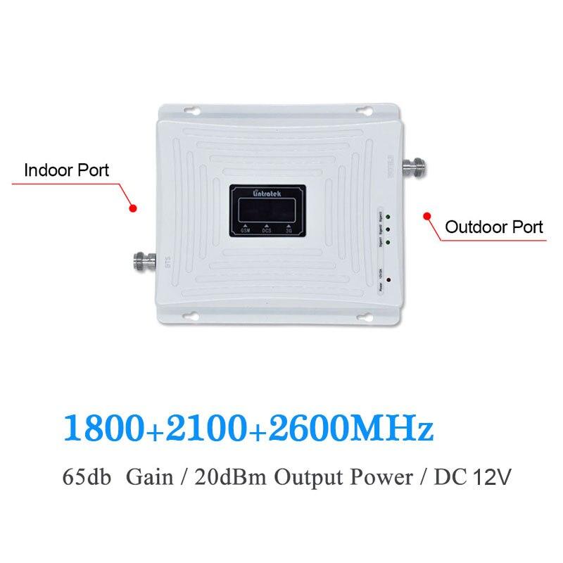 Lintratek 3g 4G 1800 2100 2600 UMTS WCDMA 2100 МГц Репитер LTE 1800 МГц 2600 МГц b7 мобильный телефон усилитель сигнала Усилитель s9