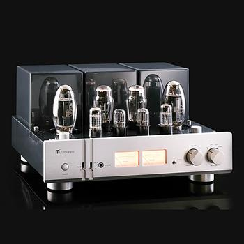 MUZISHARE X10 Dual Tube Rectifier Integrated Lamp Amp with Phono Stage Pure power amp output power 22W+22W (RMS) Amplifier