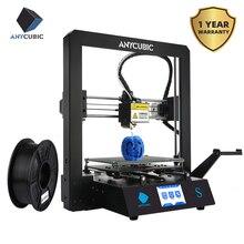 ANYCUBIC Mega S Neueste 3D Drucker Plus Größe Hohe Qualität Extrudieren TFT Touch Farbe Bildschirm Desktop Billige 3d Drucker kit 3d Drucker