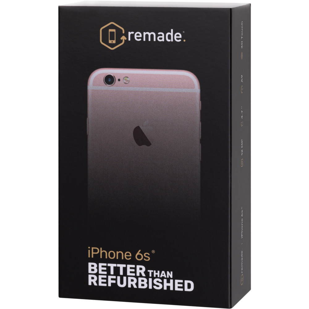 Mobile Phones Remade Iphone6s 32Gb smartphone smartphones iOS Iphone 6 s 4.7'' 1334 x 750 pp 2 Core 2GB RAM 32GB ROM 12Mpix/5Mpix 1 Sim LTE BT v4.2 NFC GPS 1750 mah OS12