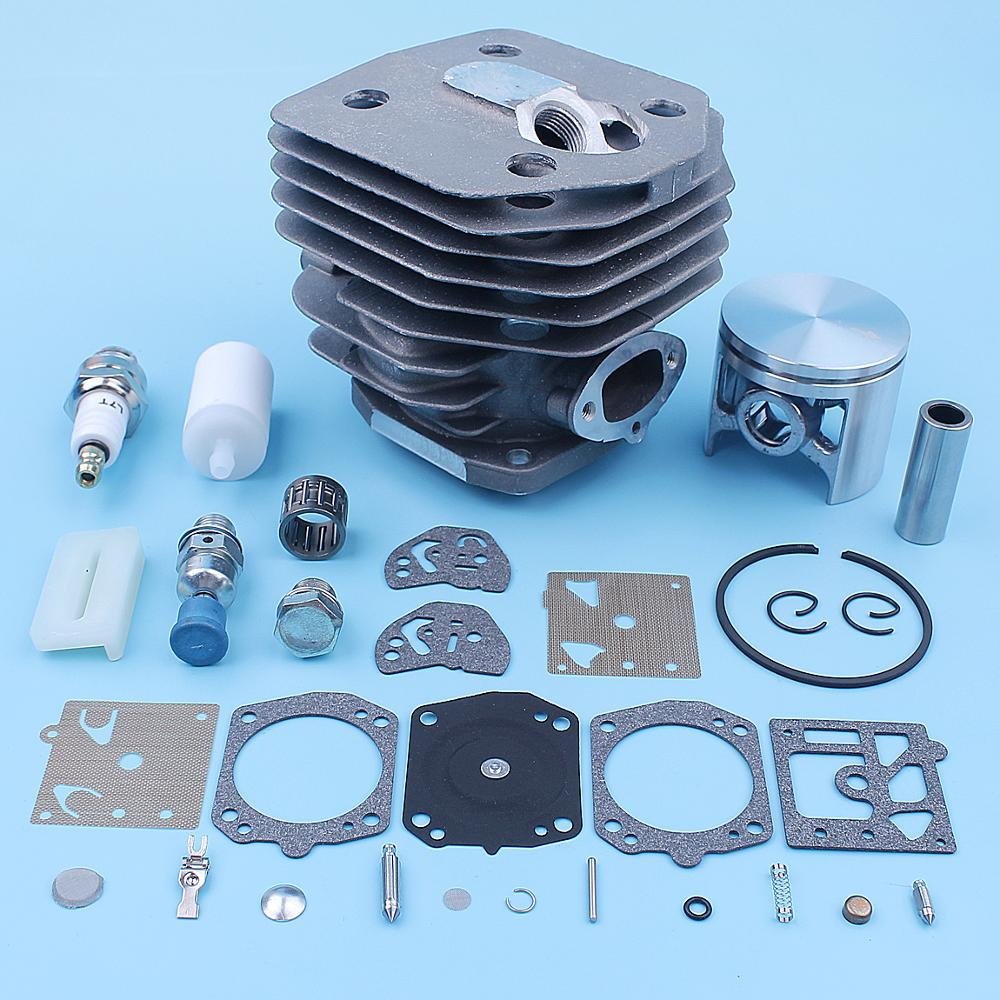 Kit 154XP Spark Husqvarna 154 Cylinder Decompression Piston Carb 254 Chainsaw Plug 254XP Spare Filter Bearing 45mm For Fuel Part