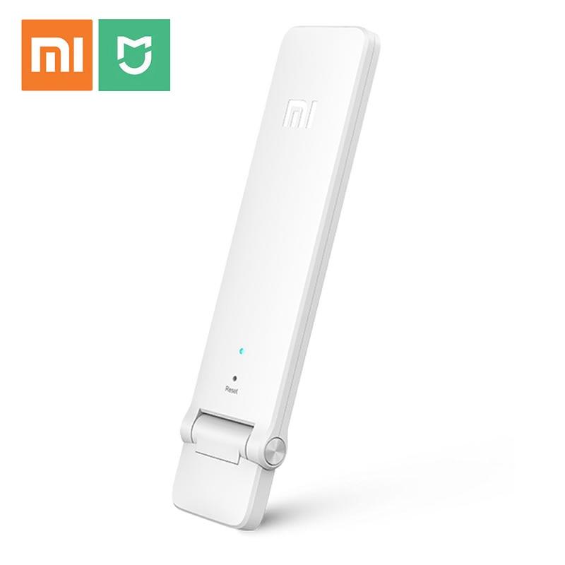 100% Original Xiao mi mi WIFI Repeater 2 Verstärker Extender 2 Signal-verstärker WiFi Drahtlose Universal Router Xiao mi mi jia Smart H