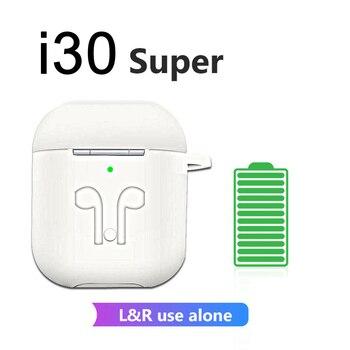 Original I30 TWS Super Wireless Earphones Bluetooth Earphone 6D Bass Earbuds PK W1 Chip I11 I12 TWS I200 Ear Phones Earp