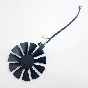 Image 3 - Новинка, вентилятор 87 мм T129215SU для ASUS GTX1060 1070 Ti RX 470 570 580, графическая карта, охлаждение ПК, постоянный ток 12 В, GPU Cooing, видеокарта coolerrs