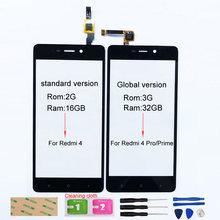 Сенсорный экран для Xiaomi Redmi 4, сменный сенсорный экран с дигитайзером для Xiaomi Redmi 4 Prime, 4 Pro
