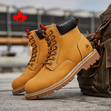 DECARSDZ Retro Classic Boots Men 2020 Autumn & Winter Fashion Men Boots Shoes Men New High Quality Genuine leather Casual Boots
