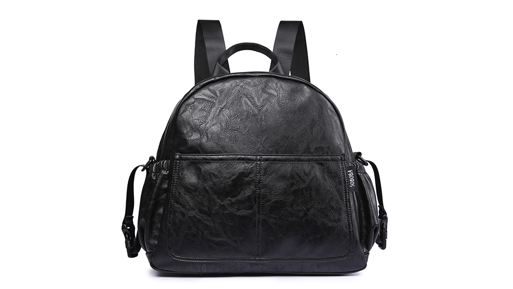 Hbf156a54e6e84bf2af1fa863c4748971a Fashion Maternity Nappy Changing Bag for Mother Black Large Capacity Fashion Diaper Bag with 2 Straps Travel Backpack for Baby