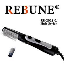 REBUNE 3 in 1 suit Hair Dryer Brush Styler RE-2013 Black New Styling To