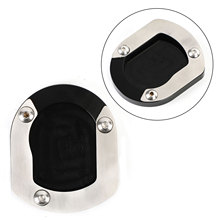 Areyourshop fit for YAMAHA XT660Z Tenere 2008 2015 Kickstand Sidestand Enlarge Plate Pad Motorcycle Accessories Parts