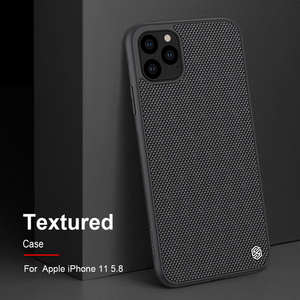 Image 1 - Case for iPhone 11 Pro Max NILLKIN Textured nylon fiber case back cover for iPhone 11 Pro 6.5 inch  phone case durable non slip