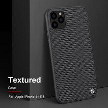 Case para iphone 11 Pro Max fibra de nylon Texturizado NILLKIN caso tampa traseira para o iphone 11 Pro 6.5 de polegada de telefone caso durável não slip