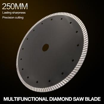 Turbo Shape Diamond Saw Blade 108mm 114mm 250mm Volcanic Rock Cutting Blade Dry Cutting for Ceramic / Stone / Masonry / Brick