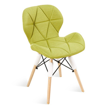 Modern minimalist dining chair home restaurant  computer  solid wood Nordic living room
