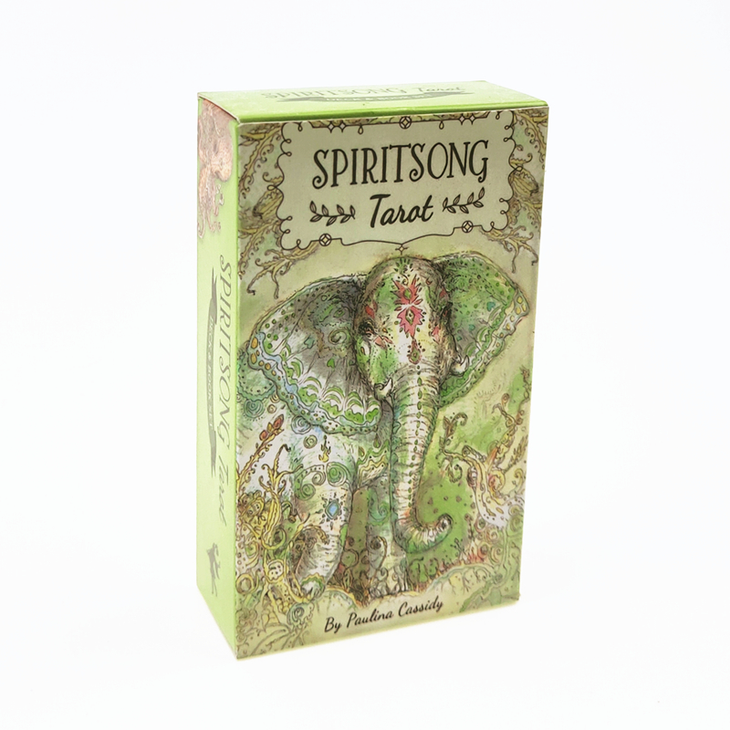 Spiritsong Tarot Deck Cards Board Game Party Family Entertainment 78 Cards/set