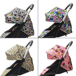 Image 2 - 175 stopni akcesoria do wózka dziecinnego dla dziecka Yoya Babyzen Yoyo Seat Liners osłona przeciwsłoneczna kaptur dziecko czas wózek poduszka materac