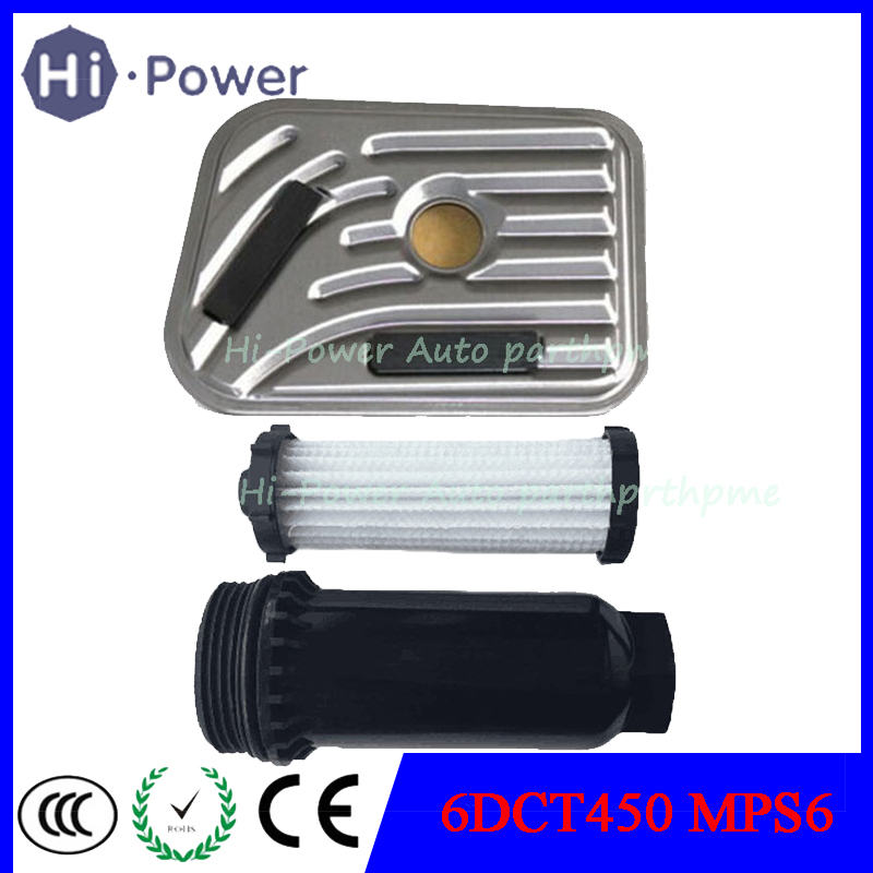 6DCT450 Oil Filter MPS6 Automatic Transmission Powershift Gearbox External For SEBRING DODGE AVENGER FORD VOLVO|Automatic Transmission & Parts| |  - title=