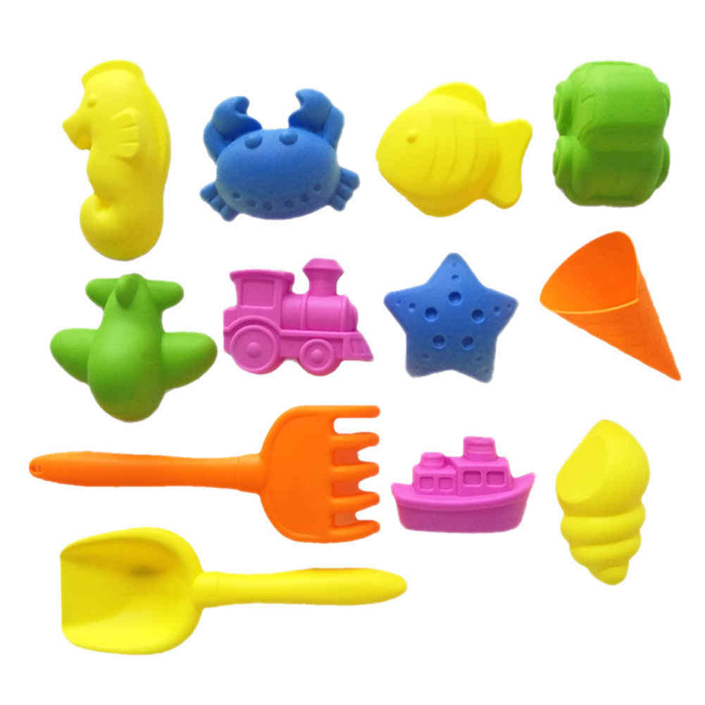 Kinetic Clay Model PVC Non Toxic Indoor Outdoor Play Beach Toy Motion Children Educational Space Sand Mold Set Funny Magic