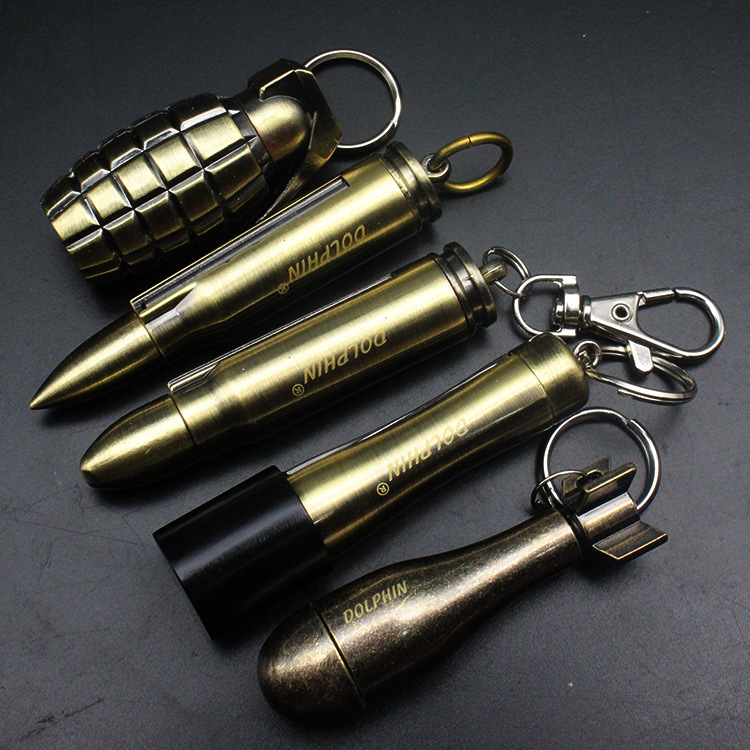 10,000 Times Lighted Kerosene Lighter Keychain Pendant Multifunctional Outdoor Waterproof Million Matches Fire Starter
