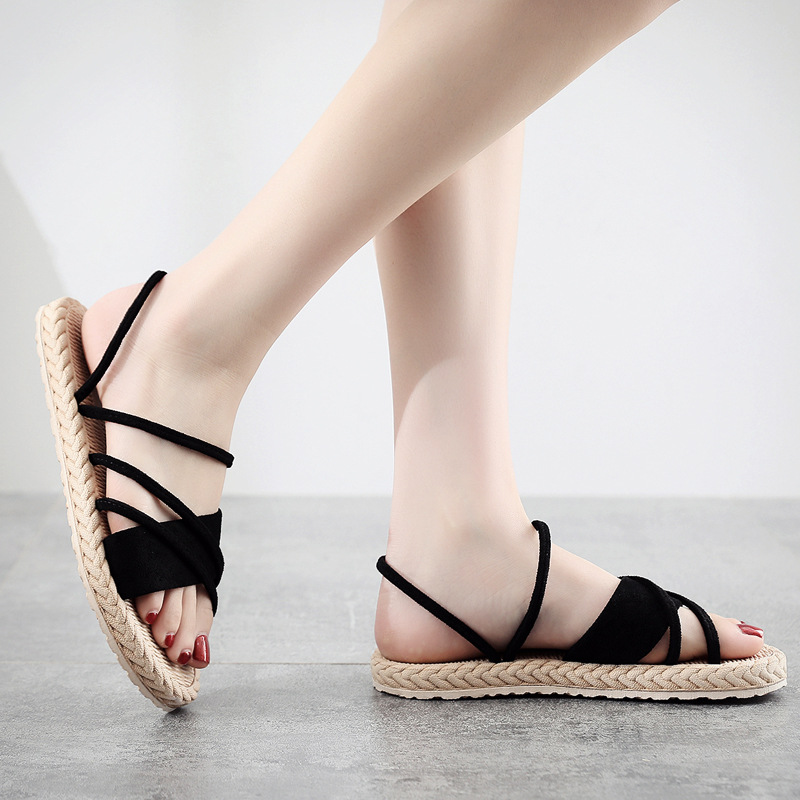 New-2020-Women-Summer-Shoes-Weave-Slippers-Woman-Casual-Fashion-Ladies-Flat-Home-Indoor-Slippers-Slides (1)
