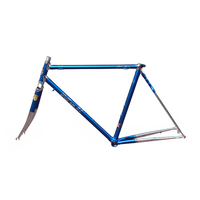 Chroom-molybdeen staal fixie frame racefiets frame 700 C frame 48 cm 50 cm 52 cm 54 cm road bike frame DIY