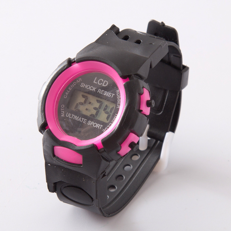 Fashion Electronic  Children  Watches  Students  Cartoon Electronic Kids Watch Time