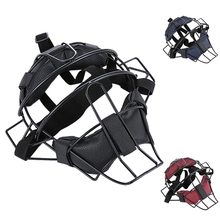 ELOS-Baseball Protective Mask Softball Steel Frame Head Protection Equipment Softball Umpire And Catcher's Mask