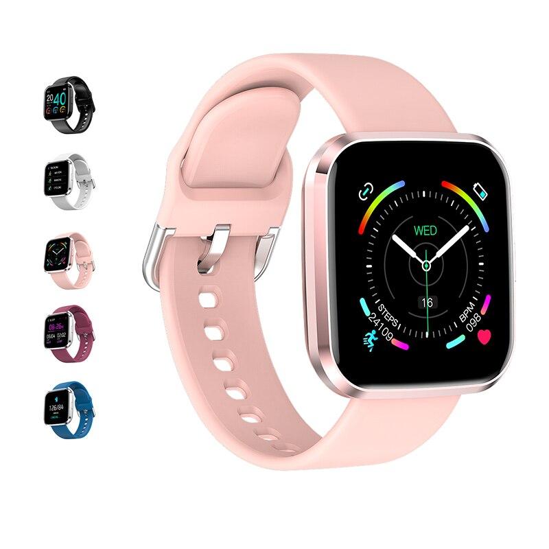 Smart women's Watch Waterproof Sports watches Heart Rate Monitor Touch screen men wristwatch Smartwatch for iphone xiaomi